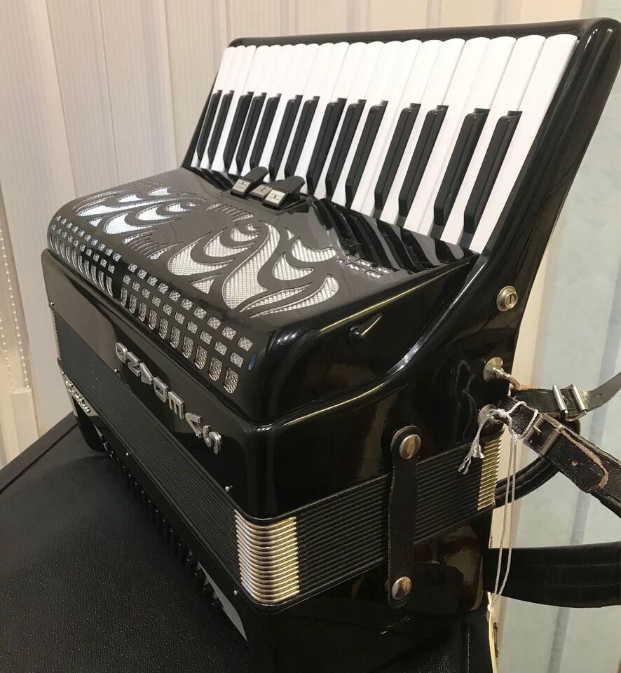 Tangentharmonika, Svedano