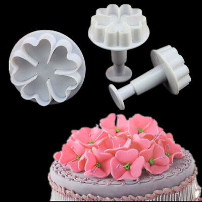 3D Diamond Sugarcraft Fondant Embosser Cutter Icing Cake Cookies Decor Molds DIY
