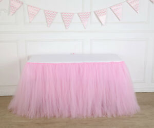100cm-Tulle-TUTU-Table-Skirt-Tableware-Wedding-Party-Xmas-Baby-Shower-Decor-GIFT