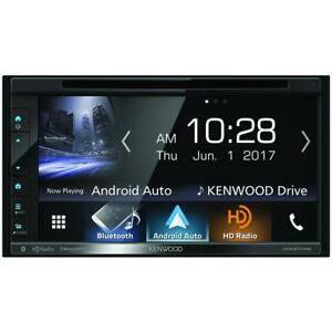 Kenwood DDX6704S 6 8 Inch DVD Receiver With Apple CarPlay Android Auto  Bluetooth and HD Radio