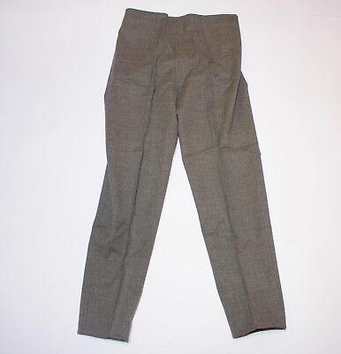 Generoso Pantaloni Classici Vintage Anni 90 Taglio Dritto Vita Alta