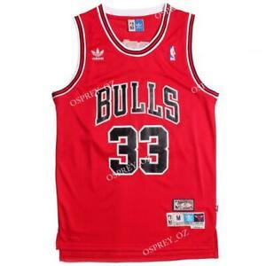 Scottie-Pippen-Chicago-Bulls-Vintage-Throwback-Swingman-Jersey-Red