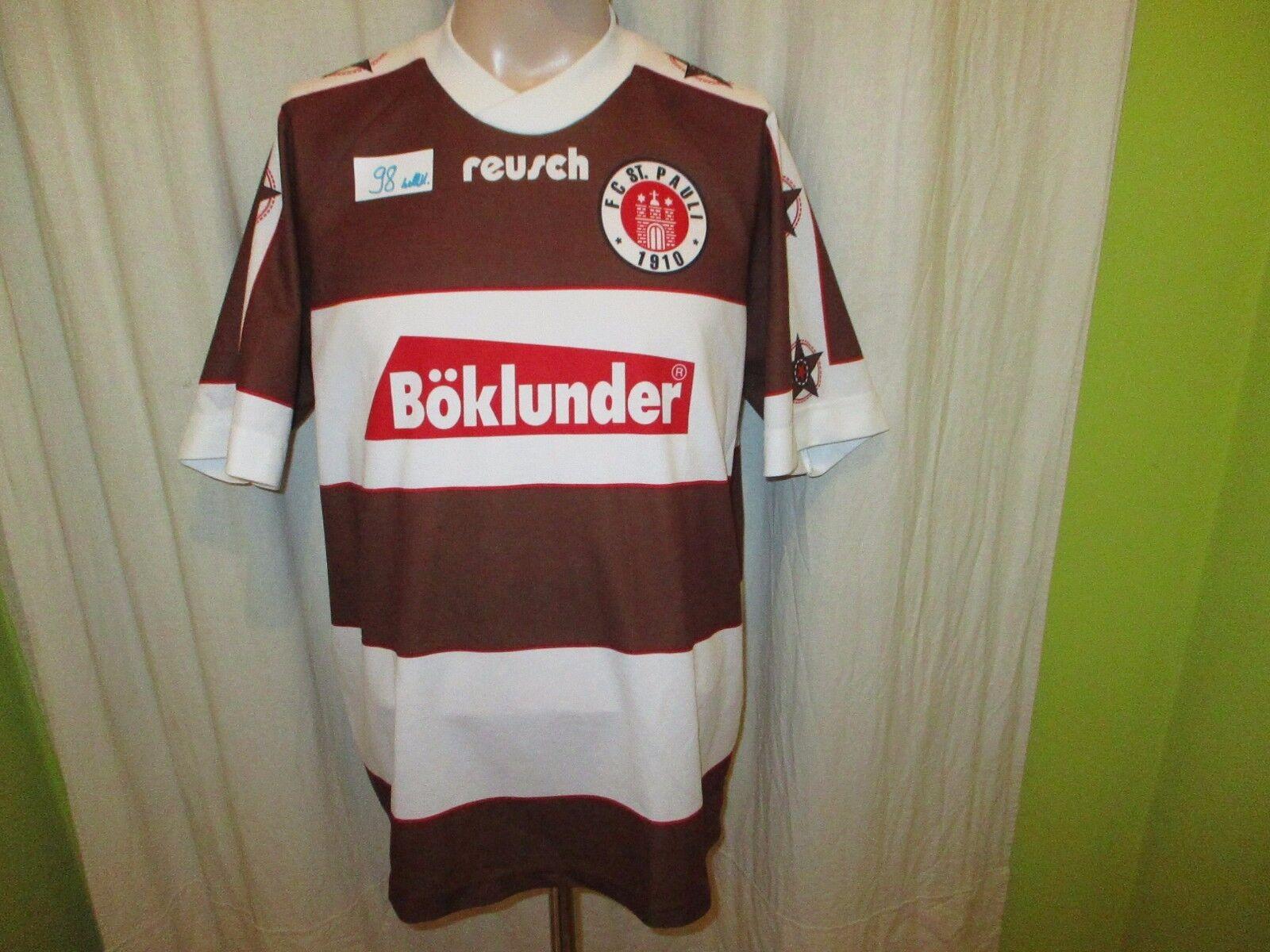 FC St.Pauli Original reusch Heim Trikot 1995/96