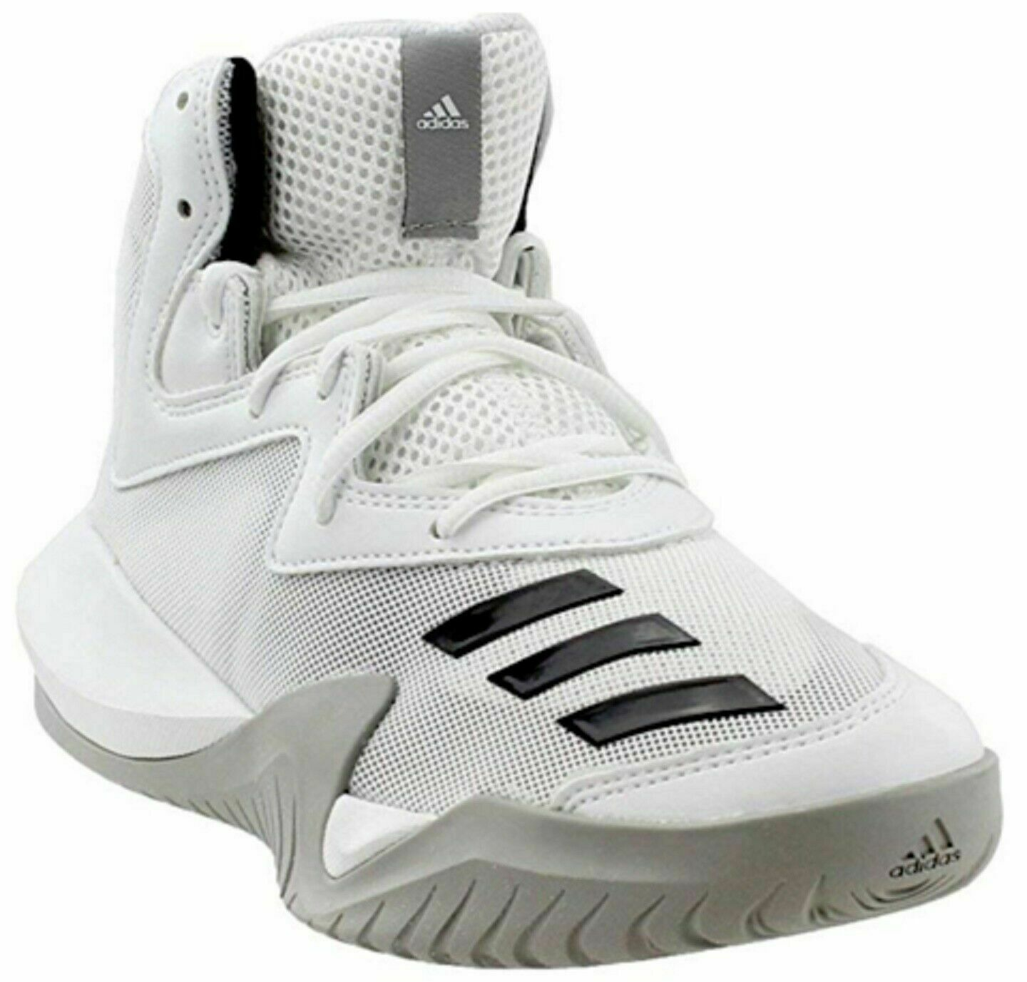 f4599a28bd867 Adidas Men BY3927 BY3927 BY3927 Crazy Team Hi Basketball shoes White Black  Size 9 1 2