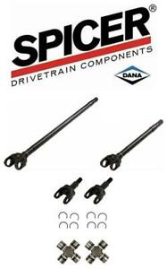 Details about Jeep JK Dana 30 Spicer Nickel Chromoly 4340 Front Axle Shafts  w/ 1350 U-Joints