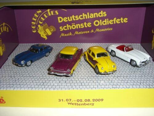 Mercedes Ford VW Scommesse Berg golden oldies 2009 Set Jaguar