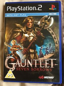 Gauntlet: Seven Sorrows (PS2) - Game  With Booklet Great Condition