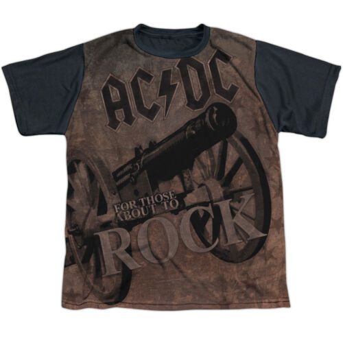 ACDC WE SALUTE YOU Kids Boys Band Tee Shirt SM-XL Boys Girls Sizes 6-20