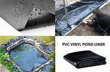 20mil PVC Pond Liner 5' x 10' Plastic Koi Fish Safe Waterfall Pool Garden Lake