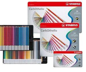 Stabilo-CarbOthello-Artist-Pastel-Chalk-Colouring-Pencils-12-24-36-48-60