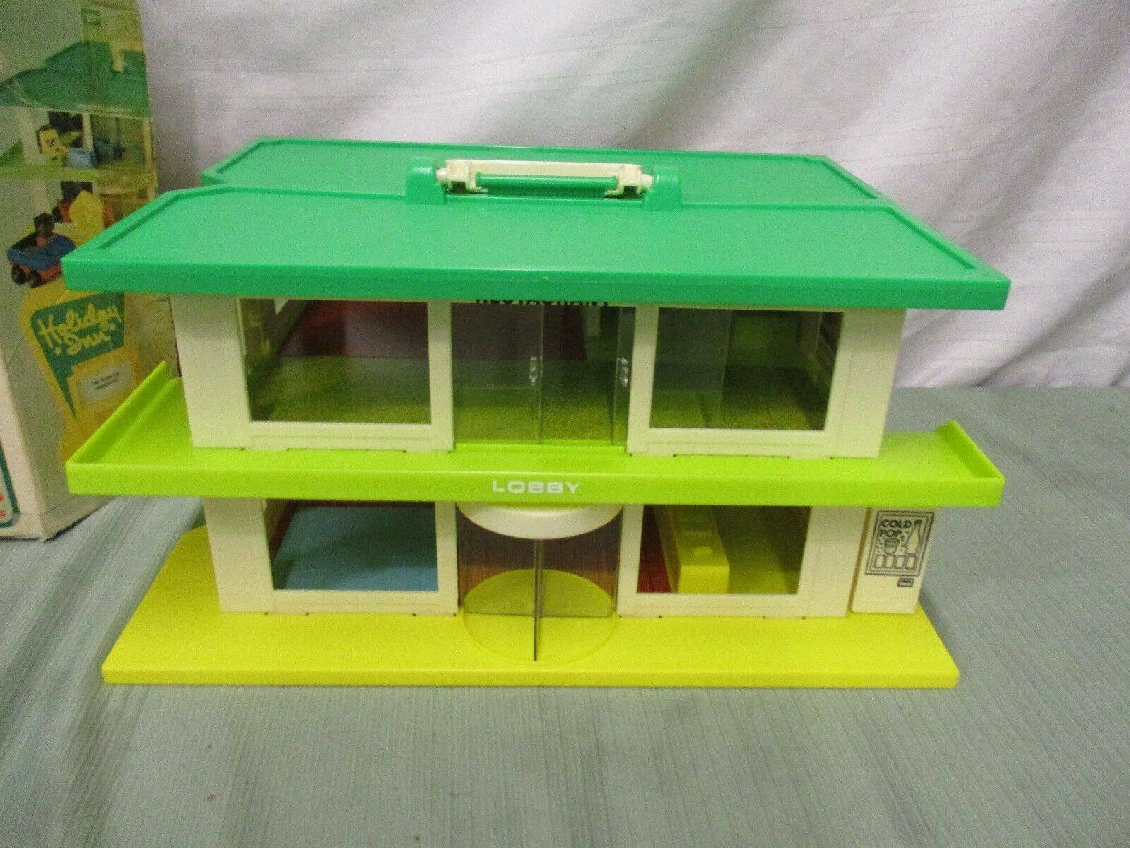 Fisher Price Price Price Little People Holiday Inn Playskool Familiar Places Hotel Motel I ab9c8b