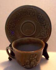 Wade  Porcelain Irish Shamrock Cup & Saucer  Made in Ireland