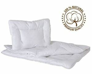 Luxury Quilt & Pillow 135x100 Baby Cot Bed Bedding Set Anti Allergy Duvet 5055726303299