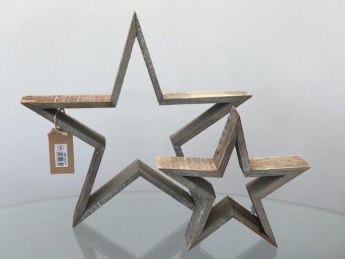 Petit rustique ajourées étoile de Noël