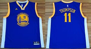 low priced 17457 43b53 Details about GOLDEN STATE WARRIORS #11 KLAY THOMPSON BASKETBALL SHIRT  JERSEY XL #11 ADIDAS