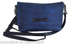 Tom-Tailor-Damen-Schultertasche-Umhaengetasche-Tasche-blau