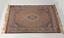 Vintage Light Antique European Transitional Oriental Design Carpet 24 x 48 inch