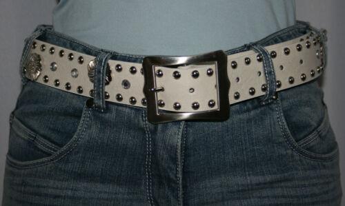 Damengürtel Hüftgürtel Taillengürtel Damen Gürtel beige,ecru Länge 100 cm neu