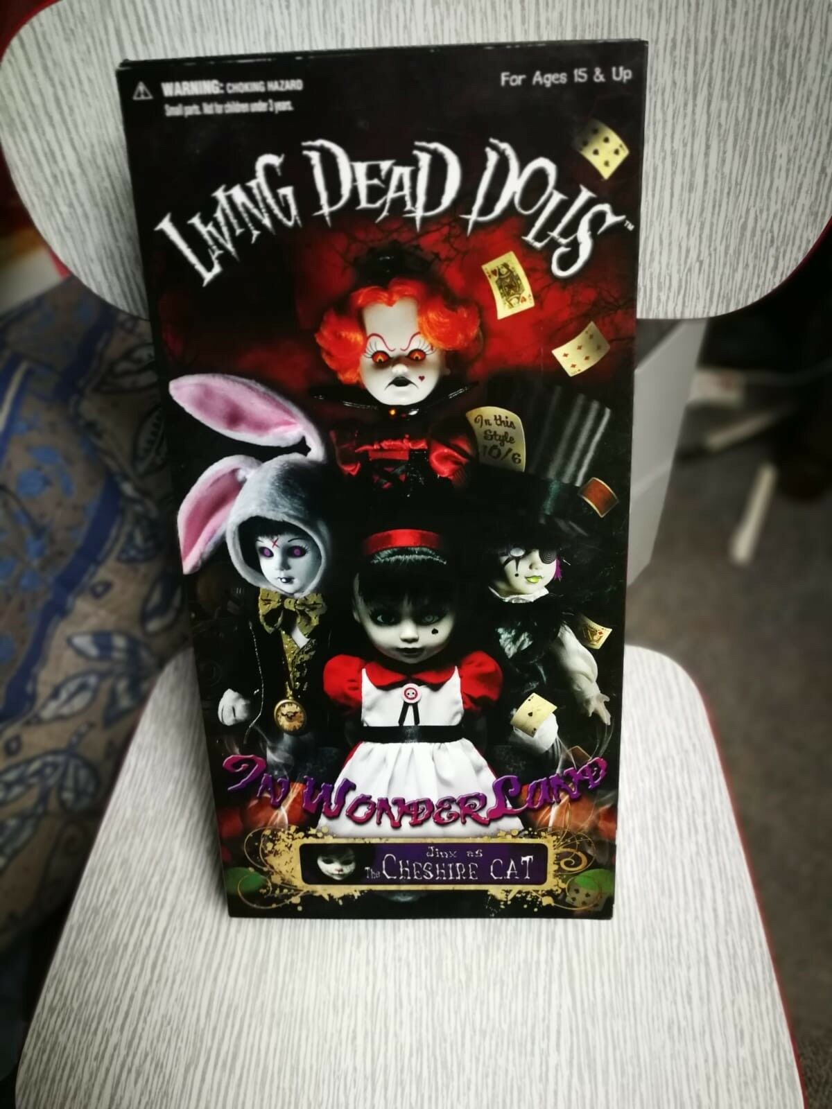Living dead dolls dolls dolls The Cheshire Cat Variant 5729b3
