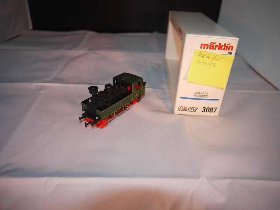 Märklin 3087 damplok. analog. Kører fint brugt.