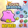 Ditto 6IVs Pack All Natures - Breeding 6IV ⭐ Shiny ⭐ - Pokemon SUN MOON SOL LUNA