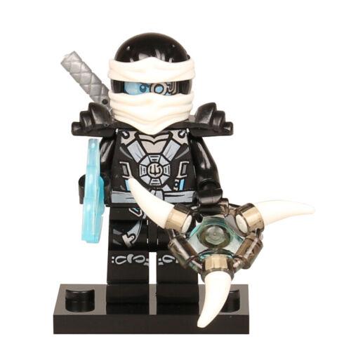 LeGOinGLy Ninjago Action Figure Golden Ninja Heroes Minifigures Motorcycle Toys