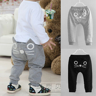 Children Fashion Printer Boys Girls Clothing Baby Trousers Kids Casual Pant Cut
