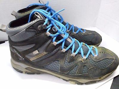 Merrell Tahr Mens Shoes Waterproof Black//Wild Dove