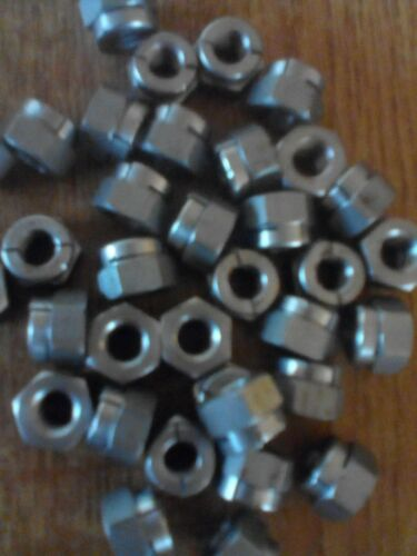 M8 A2 Acier Inoxydable Aerotight Self Locking Nuts-Qté 10