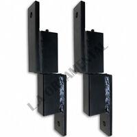 7 Heavy Duty Steel Square Gate Hinge Wall Mount Driveway Ball Bearing (pair)