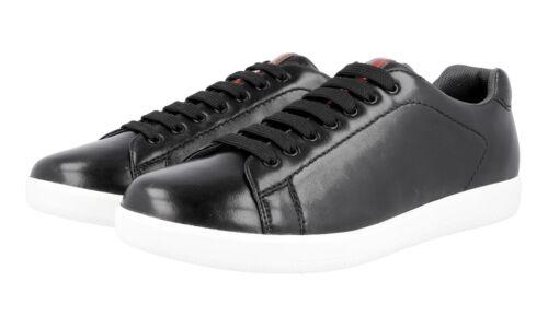 42 42 5 Scarpe Nuovo 8 4e2988 Nuovo Prada lusso di Sneaker Nero zwvgFqz