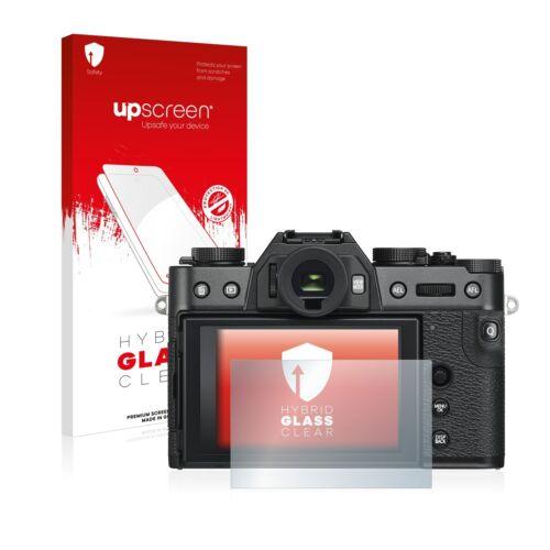 Protección de vidrio lámina Fujifilm x-t30 pantalla protección claro Hybrid vidrio-diapositiva
