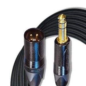 Bien éDuqué 18 Ft (environ 5.49 M), Mogami W2549 Microphone Câble Xlrm & Trs Avec Neutrik Gold Series-afficher Le Titre D'origine Belle Qualité