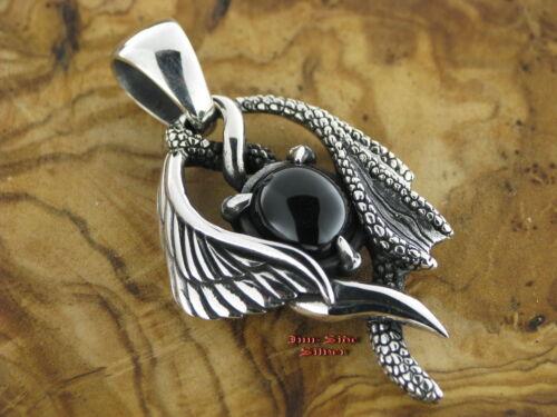 Ketten Anhänger Engelsflügel und Drachenflügel Gothic Celtic Silber 925