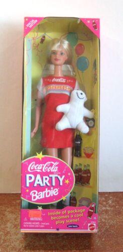 1998 Coca Cola Party Barbie NRFB (Z140 & 117)
