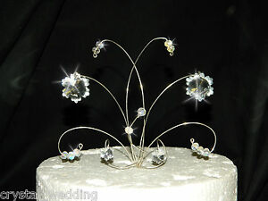 crystal wedding cake toppers snowflake wedding cake topper decoration ebay 3212