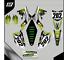 Grafiche-personalizzate-KAWASAKI-KLX-110-Motard-enduro-RiMotoShop-Ultra-grip miniatura 2