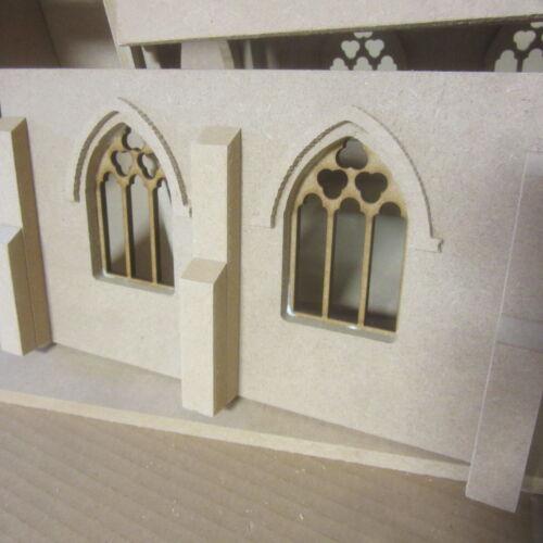 Maison de poupées échelle 1//12 village église Kit incluant extension DHD039EX