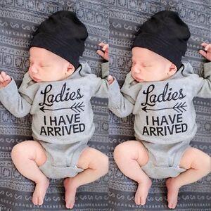Newborn-Toddler-Baby-Boy-Girls-Cotton-Rompers-Jumpsuit-Bodysuit-Clothes-C1MY