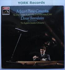 ASD 2465 - MOZART - Piano Concertos 21 & 27 BARENBOIM - Excellent Con LP Record