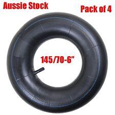 4x 6 Inch 145/70-6 Tube fit 3.50-4.00/6 Tyre Mini ATV Quad Buggy Gokart Mower