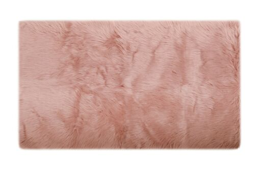 """Solid 30/""""x50/"""" Throw Rug Suede Backing Brand New Area Rug Faux Fur New"""