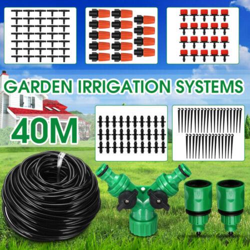 Sprinkler Tropfen Bewässerung System Einstellbarer Tropfer 40 m Schlauch