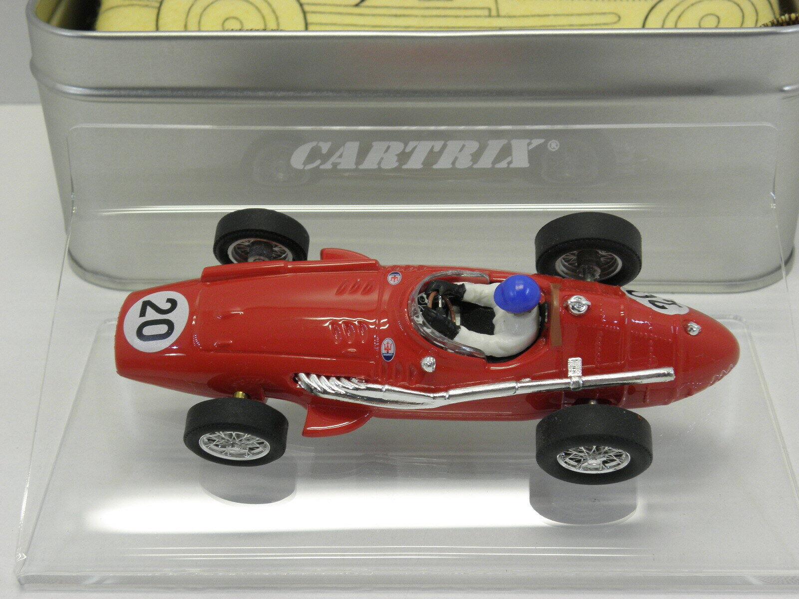 Cartrix 0920 Slot Car Maserati 250 F 1956 Deutschland G.P. Fahrer F. Godia  1 32