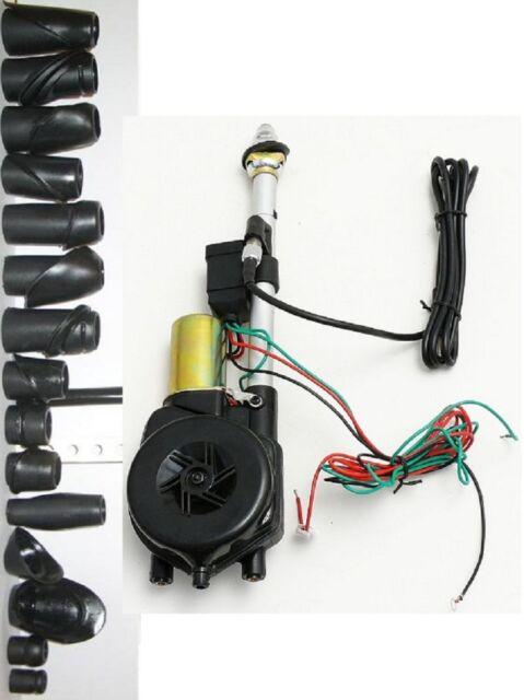 Universal 12V Auto Antenne Automatische Elektrische Power Radio AM FM Antenne