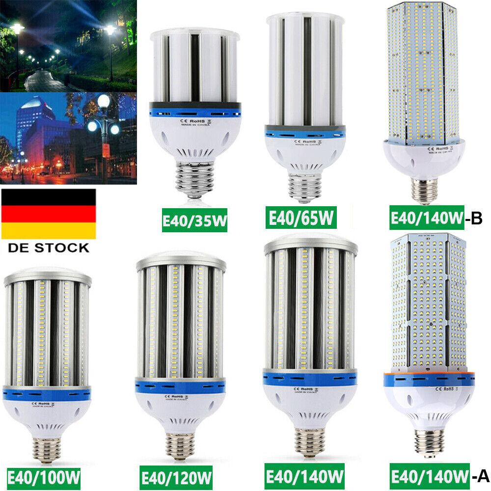 E40 35W 65W 100W 120W 140W LED Birne Maisbirne Mais Lampe Licht Glühbirne Weiß