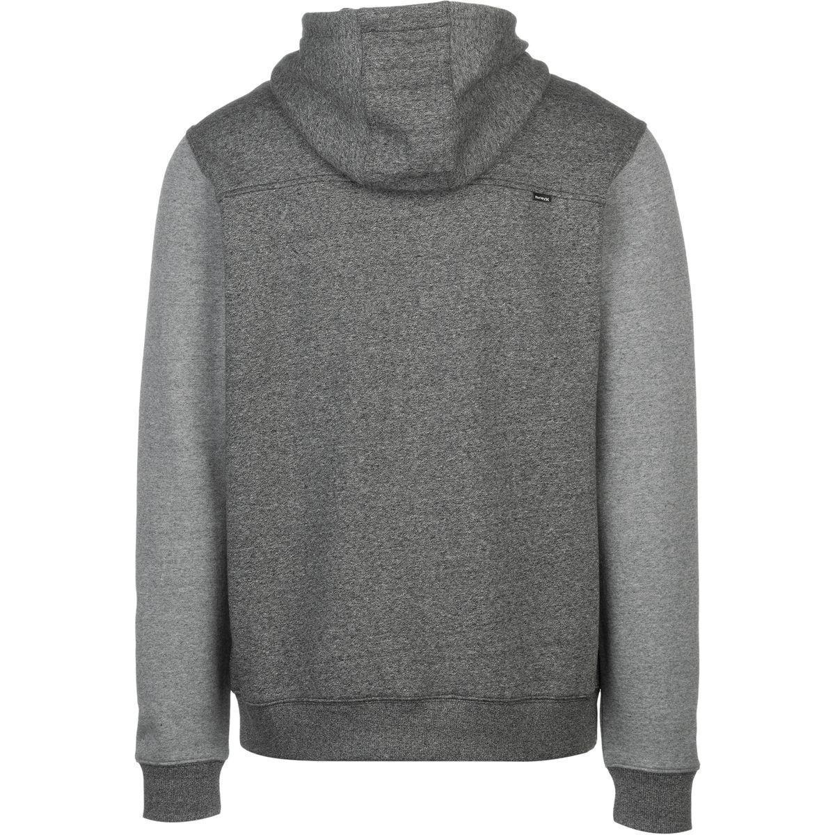 Hurley Hoodie Full Zip Hoodie full Uomo Size XXL fleece Hoodie full Hoodie zip Sweatshirt 31f6fc