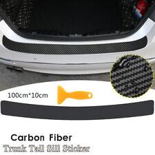 100cm Accessories Carbon Fiber Car Rear Bumper Protector Corner Trim Sticker Fits 2013 Lexus Rx350