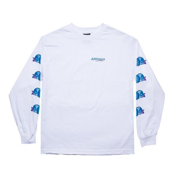 Alltimers Clothing Peachy Men's L S White Tshirt - X Large SRP