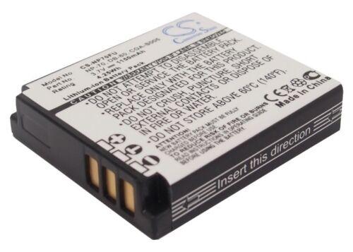 Caplio GX100 Caplio GX200 Caplio R3 Batería para Ricoh Caplio GR Digital II